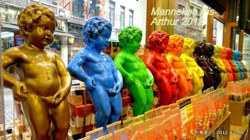 比利时满街尽是裸体撒尿