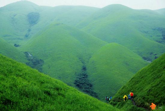 穿越武功山:炼狱在最美的高山草甸