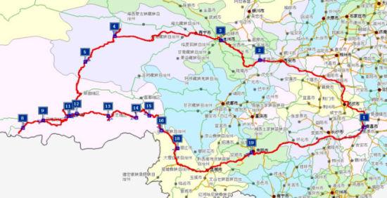 青藏高速规划图