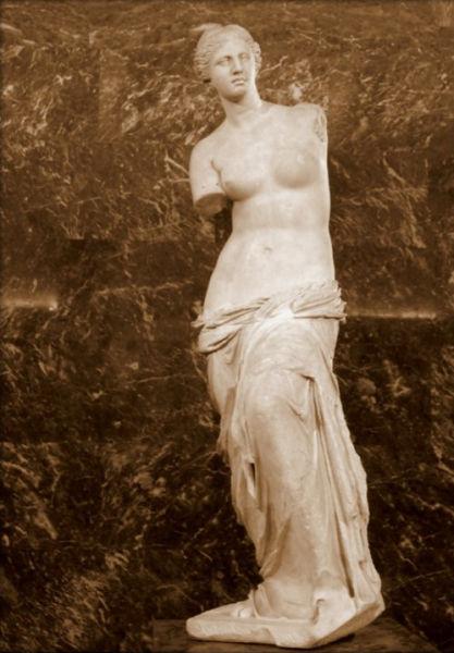 维纳斯为什么断臂 断臂女神维纳斯 断臂维纳斯雕像图片
