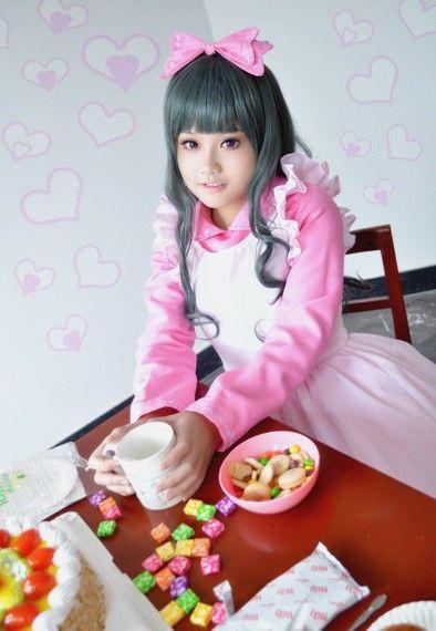 南昌妹子cosplay卖萌装扮拼可爱
