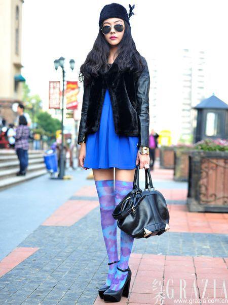 时尚街拍跟着这些民间高手学穿衣