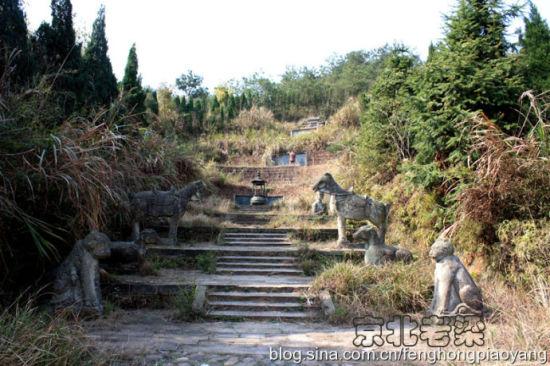 江南石头台阶背景素材