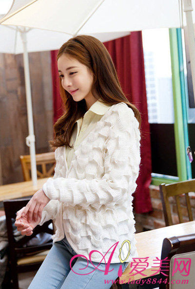 纯白美衣显气质白富美造型全打造