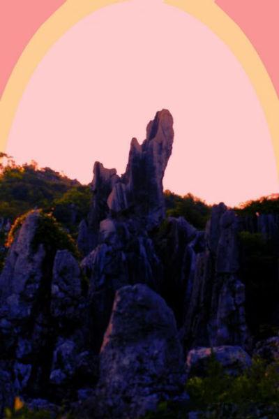 鄱阳湖畔神秘又壮观的世界 江西怪石林