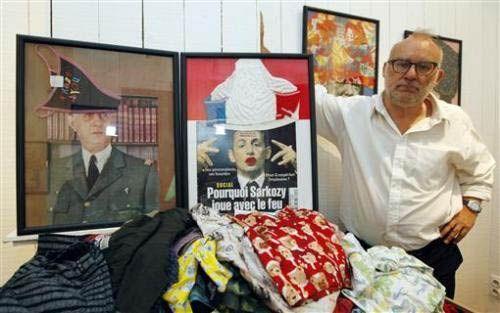 内裤戴头上揭秘比利时名人内裤博物馆
