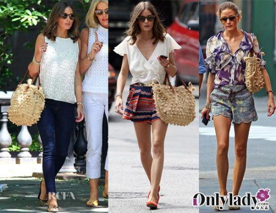 就是那一款!窥探好莱坞女星春夏出街必备包袋