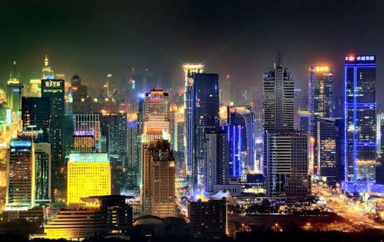 比一比看一看江西各地市谁的夜景最美