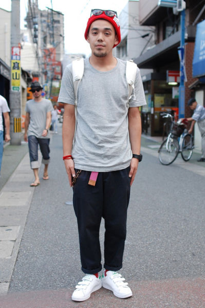 潮男入夏怎么穿日本街拍达人告诉你