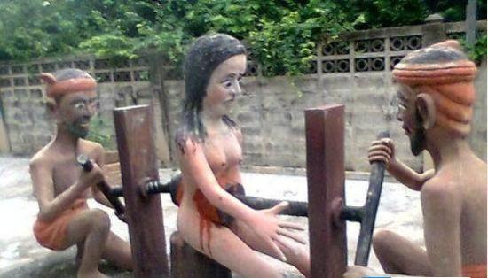 泰国血腥寺庙盘点古代残酷刑罚