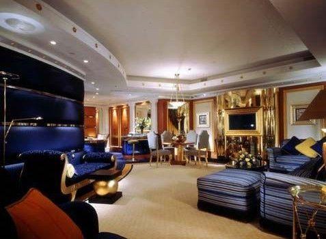 Suit Luxus套房的客厅