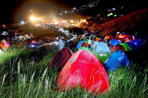 武功山露营之夜