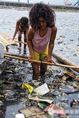 贫民窟巴塞科菲律宾恐怖的卖肾街