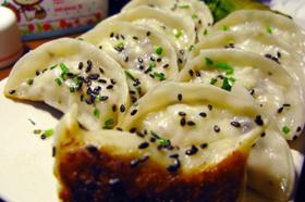 猪肉白菜煎饺