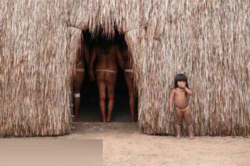 以穿衣为耻深入探秘巴西全裸的印第安部落