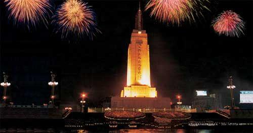 南昌精神坐标 八一南昌起义纪念塔图片
