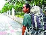 90后小伙带90元徒步走中国