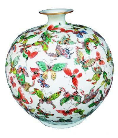 古彩瓷艺瓷器高端鉴赏(图)
