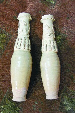 民间藏家手中的宋影青瓷瓶赏析