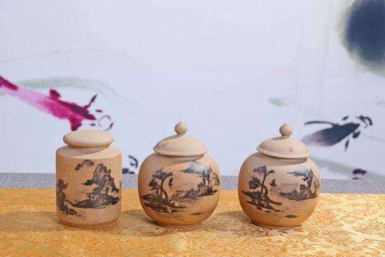 文艺摆件不可缺少的陶瓷茶叶罐