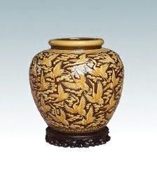 陶瓷鉴赏:均陶《百鹤献寿》