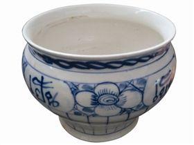 德化窑暹罗字纹青花罐