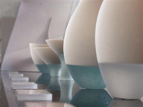 淡雅陶瓷与玻璃的完美结合