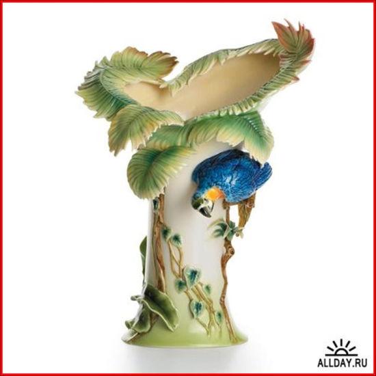 现代精品陶瓷艺术品巧夺天工