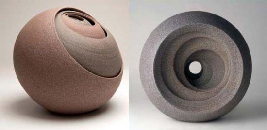 现代陶瓷展现层层叠叠之美