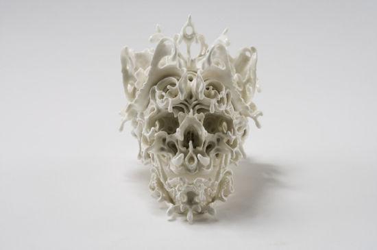 KatsuyoAoki陶瓷艺术作品:预言之梦