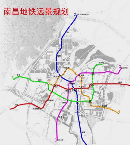 南昌地铁3号线计划年内开建图片
