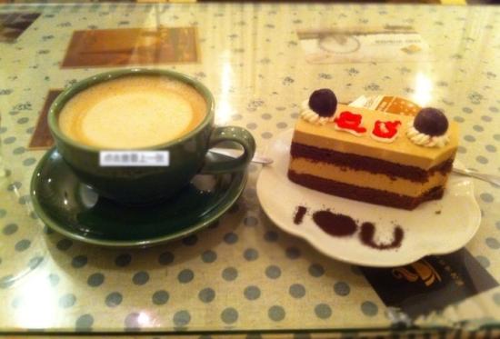 咖啡与蛋糕