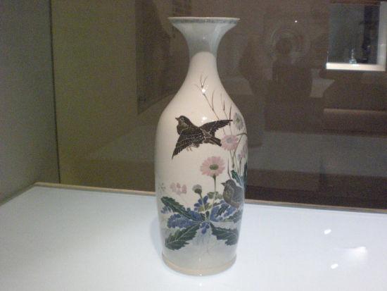 首都博物馆精美的醴陵瓷鉴赏