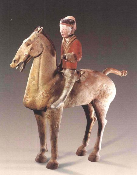 盘点古代陶瓷中的那些马