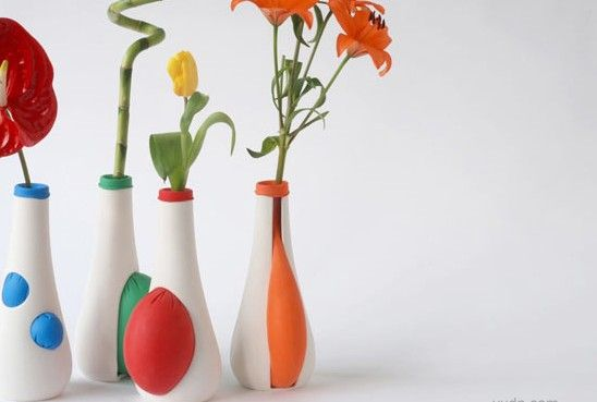 德国设计师的创意陶瓷花瓶