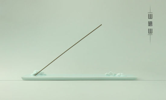 山水一间原创设计:山恋山香插板