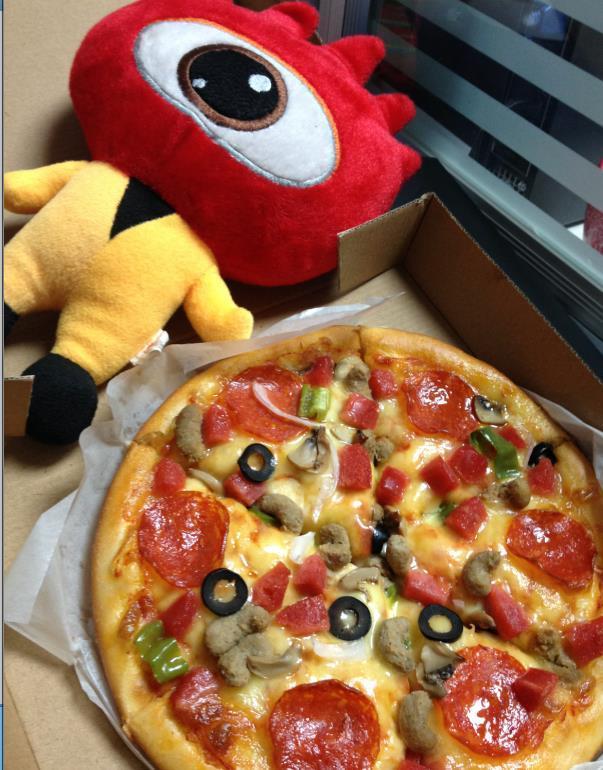 你找不到的小披萨