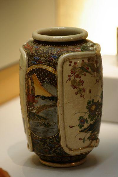 日本精美的萨摩烧瓷器鉴赏