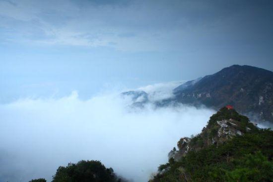 庐山风景区图片天气