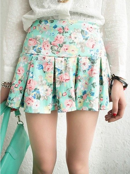 新春甜美扮靓花团锦簇的小伞裙