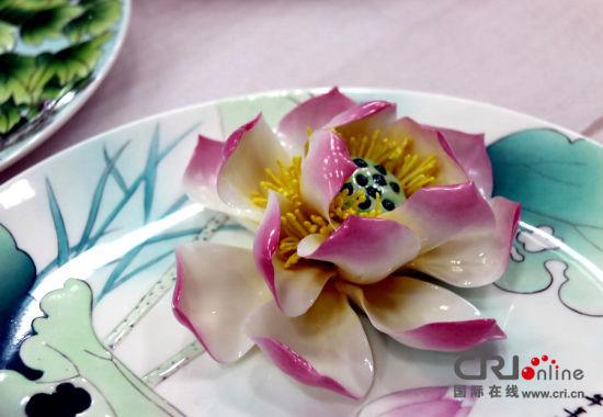 指尖上的曼妙——洛阳牡丹瓷工艺