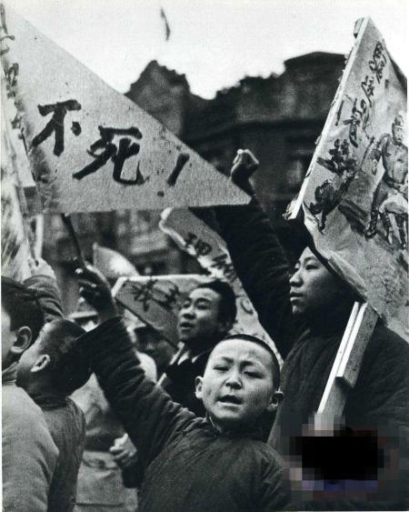 历史收藏老照片抗战时的中国