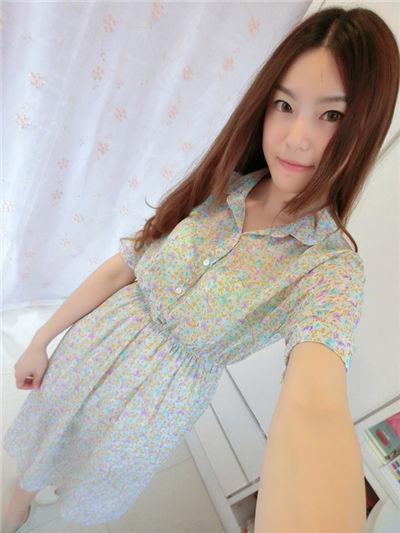 南昌文艺女青年必备复古高腰雪纺长裙