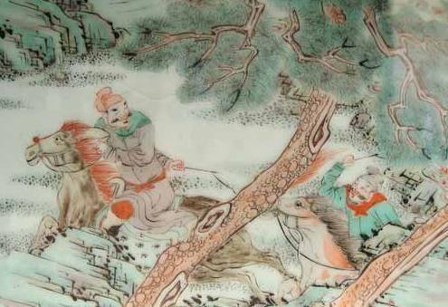 南京博物馆藏清代五彩人物瓷器