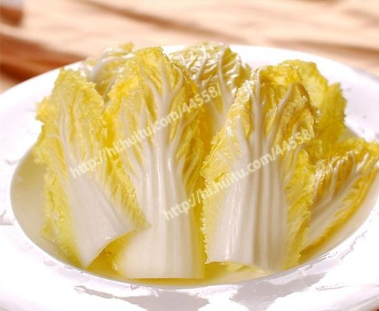 白菜也要有型有型的泰式爽口大白菜