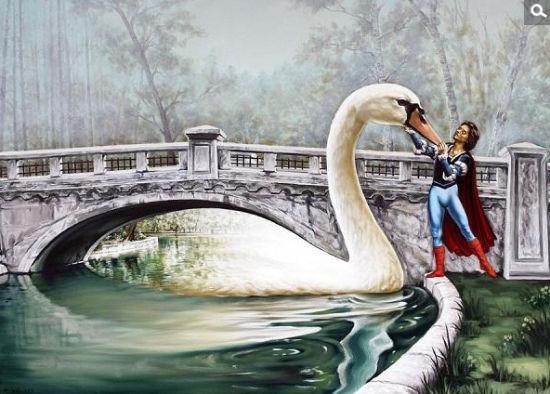 超现实主义绘画鉴赏:鸟之歌