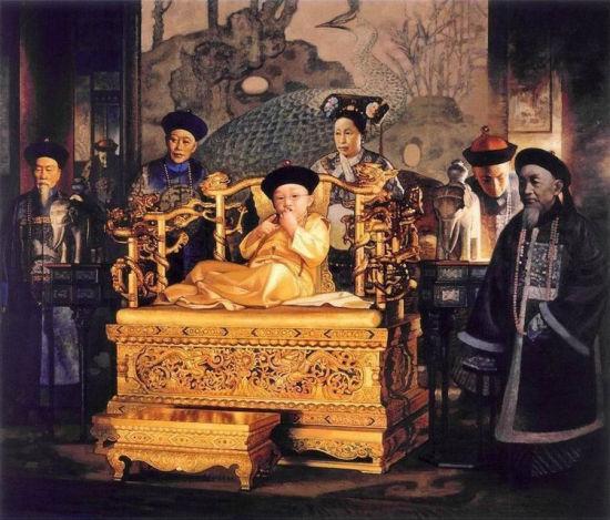 姜国芳油画系列:《紫禁城》