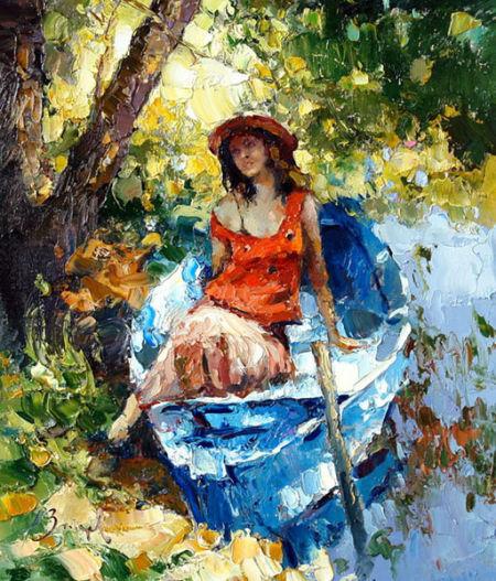 俄罗斯艺术家AlexiZaitsev油画作品欣赏