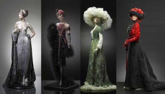 真实而极尽奢华的陶瓷人偶设计