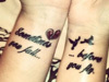 奇葩的离婚纹身